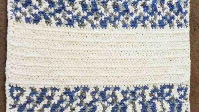 Easy Soft Crochet Baby Blanket
