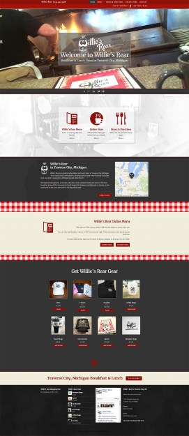 Web Design Portfolio - Willies Rear