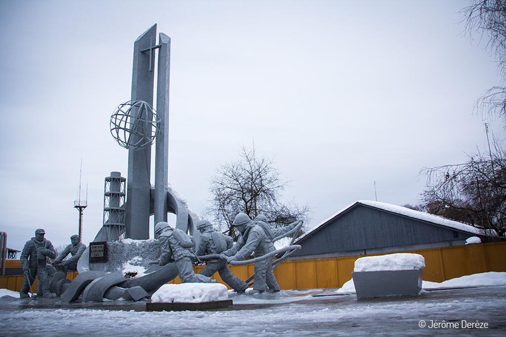 Monument aux pompiers de Tchernobyl