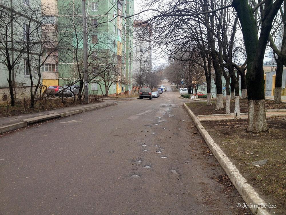 les rues de tiraspol