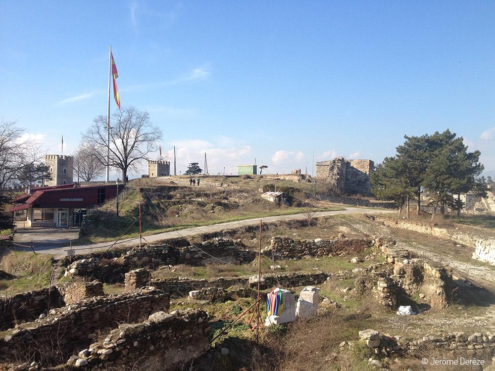 Visiter Skopje et sa forteresse