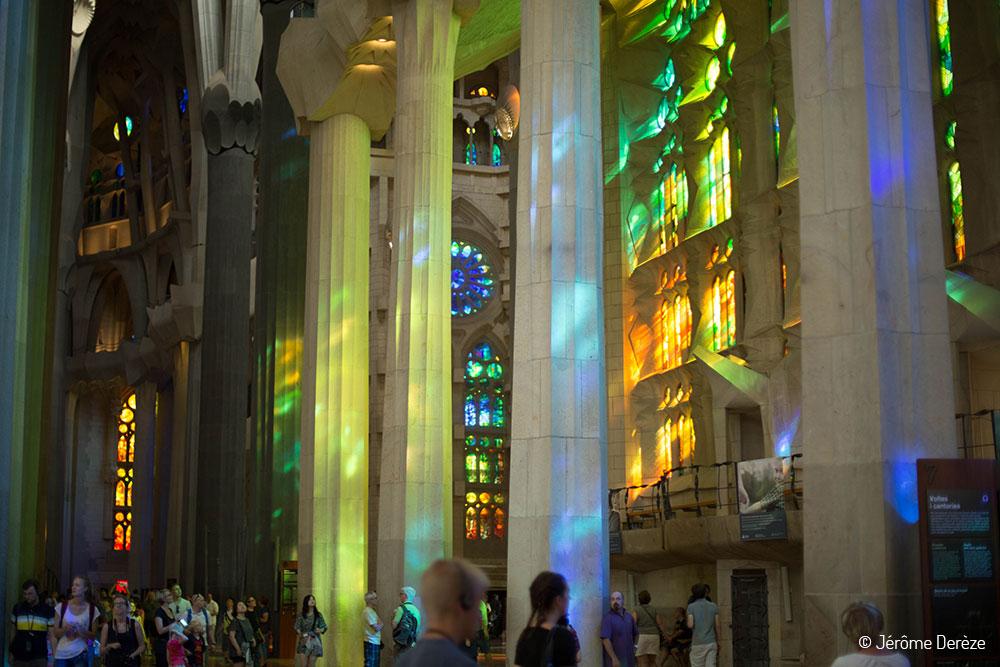 Voyager à Barcelone - Voir Gaudi à Barcelone - Sagrada Familia