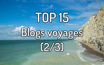 Top 15 Blogs voyages (2/3)