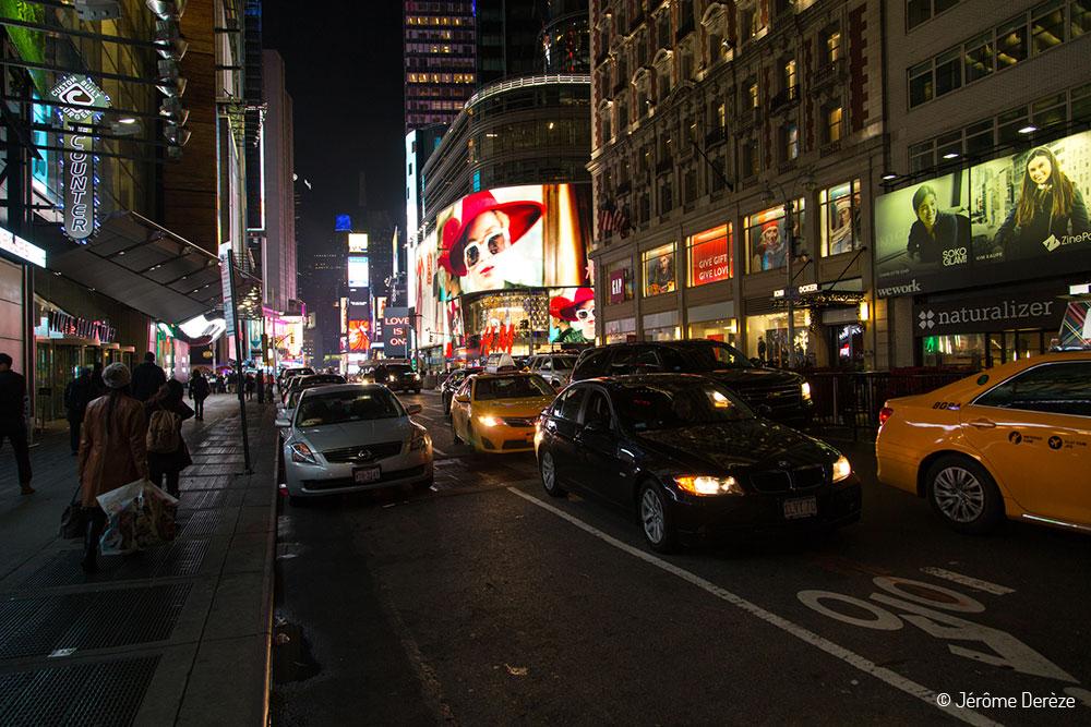 Visiter les rues de New-York