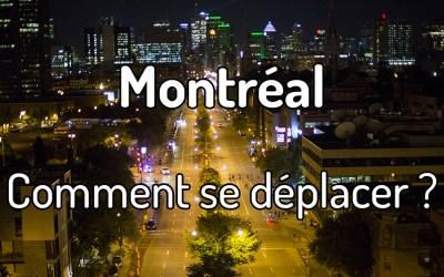 Comment se déplacer à Montréal ?