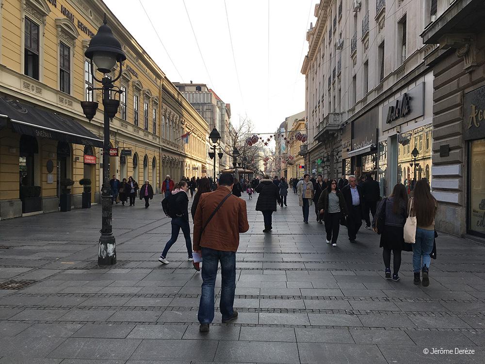 Knez Mihailova - Le piétonnier de Belgrade