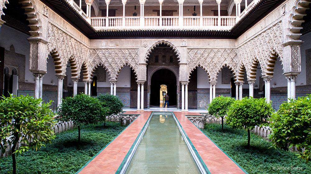 Intérieur du Palais de l'Alcazar