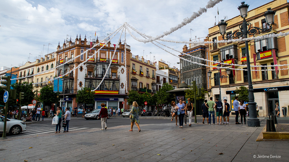 Lieux à visiter à Séville - Quartier de Triana
