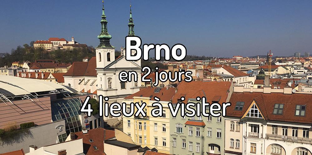 Visiter Brno en 2 jours – 4 lieux à voir à Brno