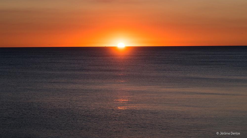 Coucher de soleil sur Cadiz
