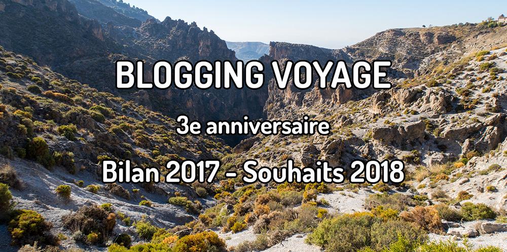 3 ans de Blogging voyage