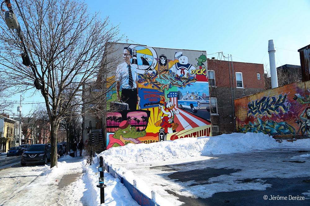 Street art sur le plateau mont-royal