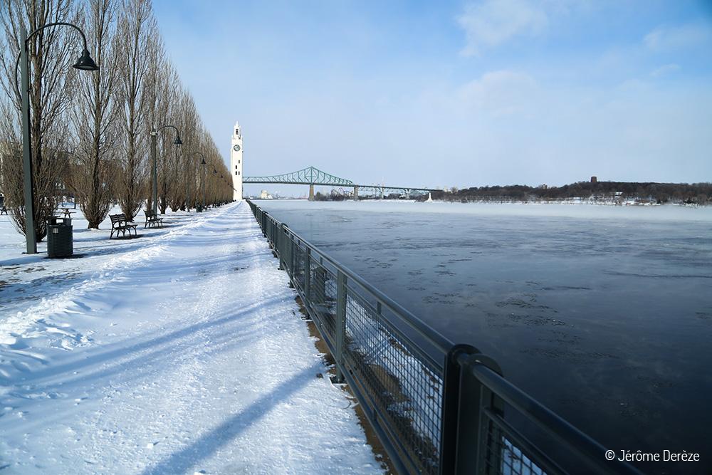 Vieux-Port de Montréal en hiver