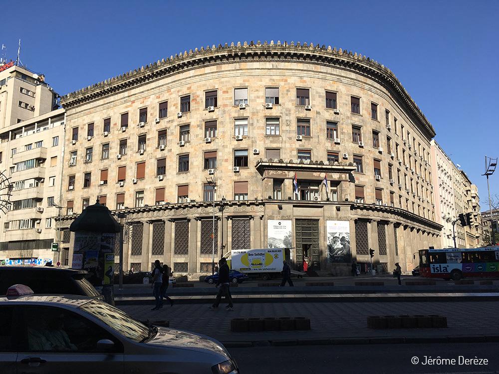 Extérieur du Musée historique de Serbie