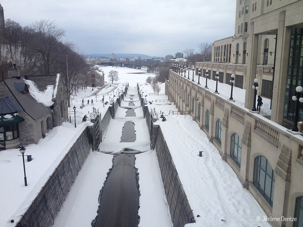 Canal Rideau à Ottawa