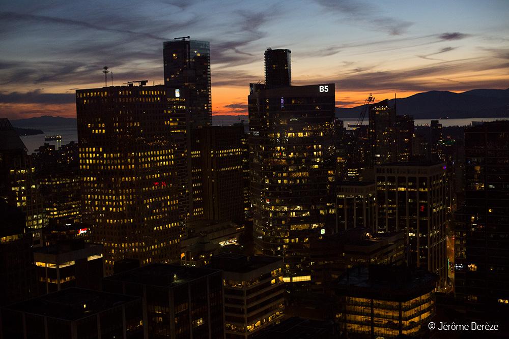 Vancouver de nuit