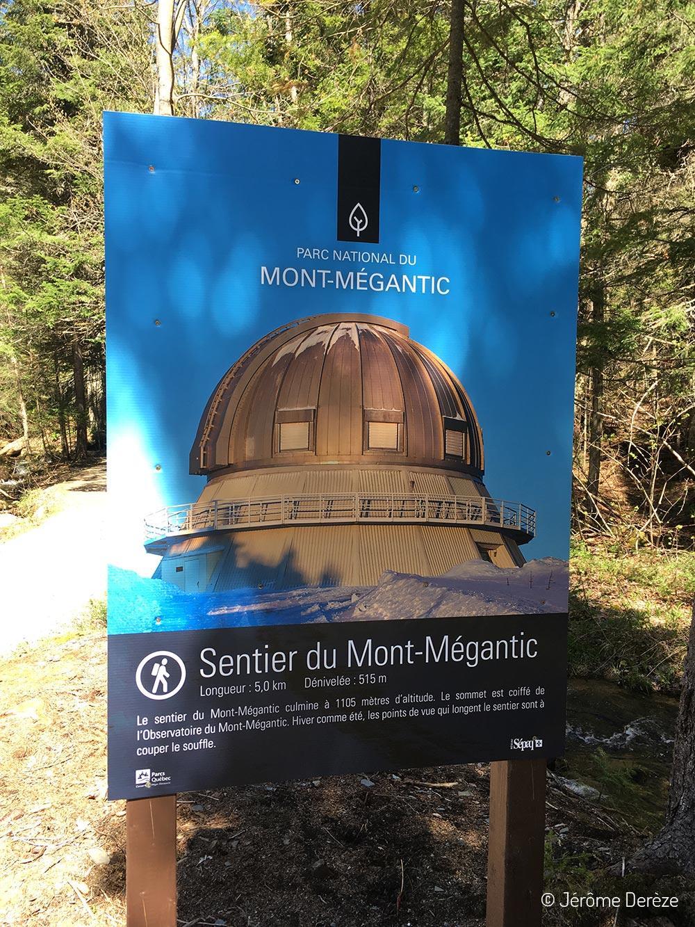 Visiter Estrie - Parc national du Mont-Mégantic