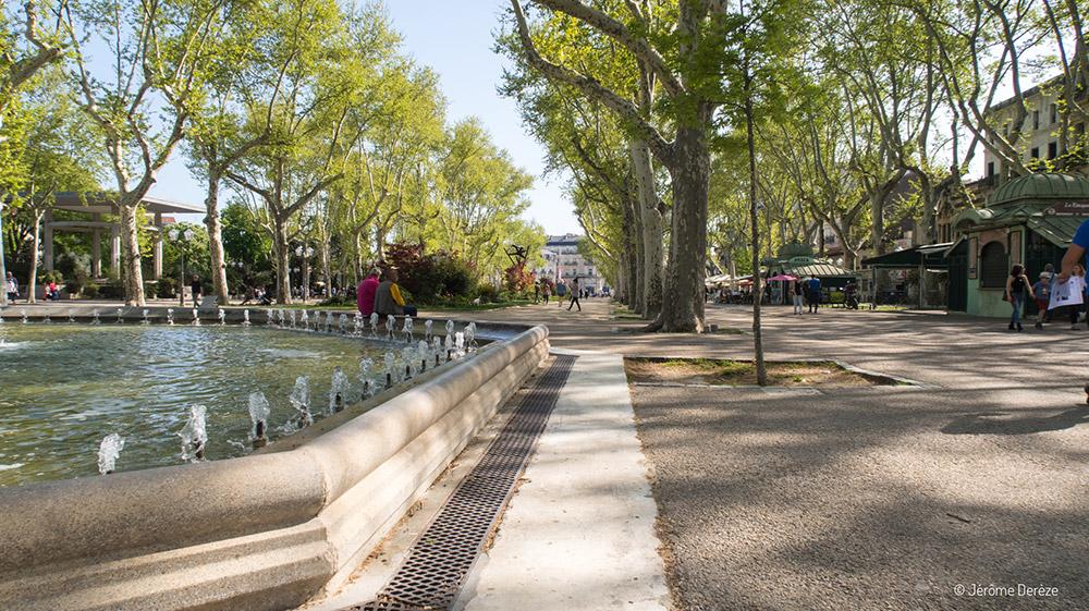Esplanade Charles-De-Gaulle à Montpellier