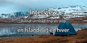 Road trip en stop en Islande en hiver