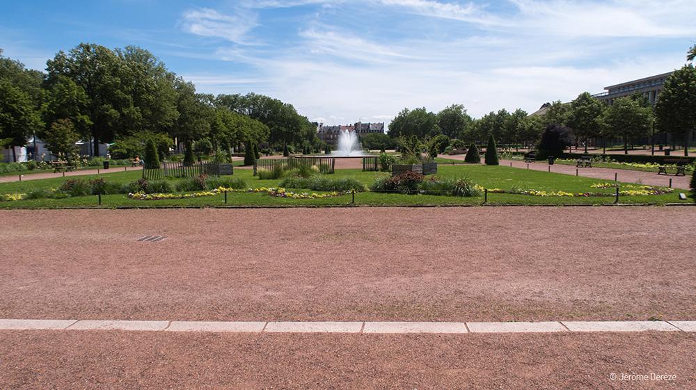 Visiter le Parc République de Metz