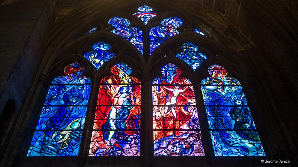 Visiter la Cathédrale de Metz et les vitraux de Chagall
