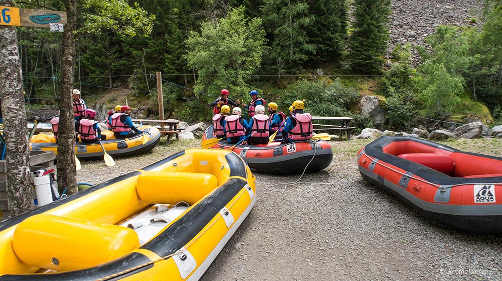 Activités à faire en été dans les Alpes - Rafting