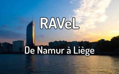 Parcourir le RAVeL de Namur à Liège