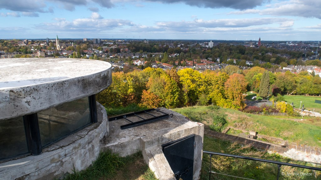 Sommet du Fort Saint Pierre à Maastricht
