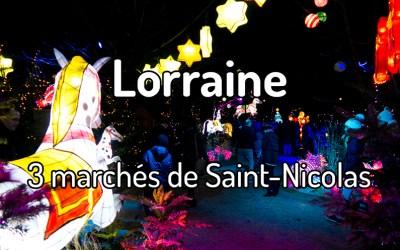 3 marchés de Saint-Nicolas en Lorraine