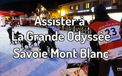 Assister à La Grande Odyssée Savoie Mont Blanc