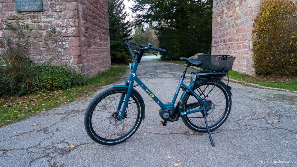 Se déplacer à vélo à épinal