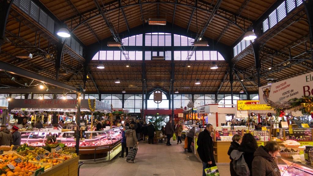 marché couvert d'épinal