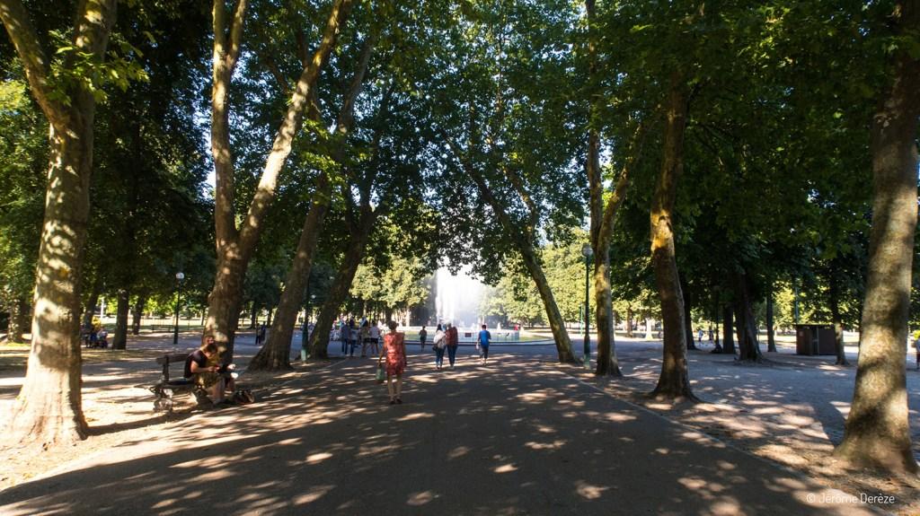 Se promener au parc de la pépinière à nancy