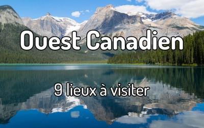 Voyager dans l'ouest canadien