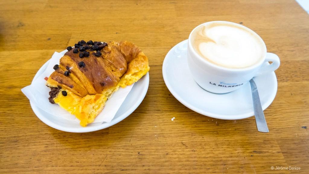 Manger un petit-déjeuner à Florence - La Milkeria
