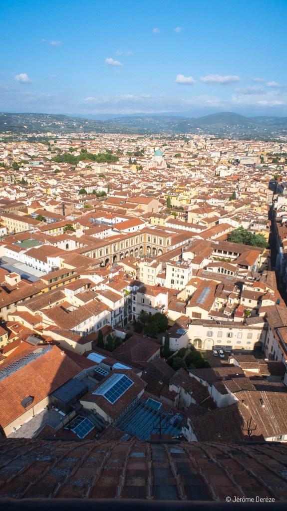 Vue depuis le Dôme de Florence