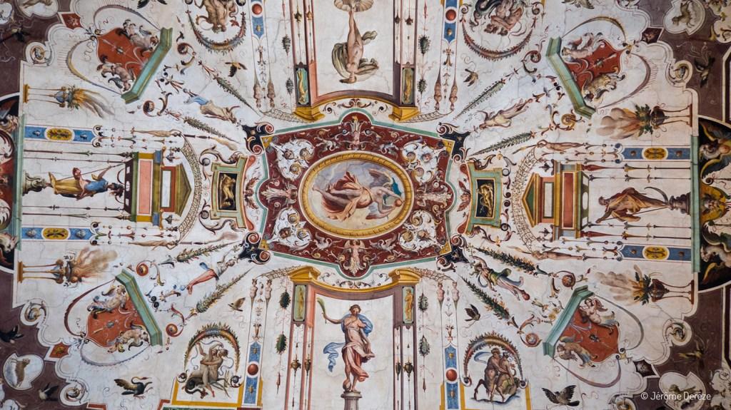 Plafond de la Galerie des Offices