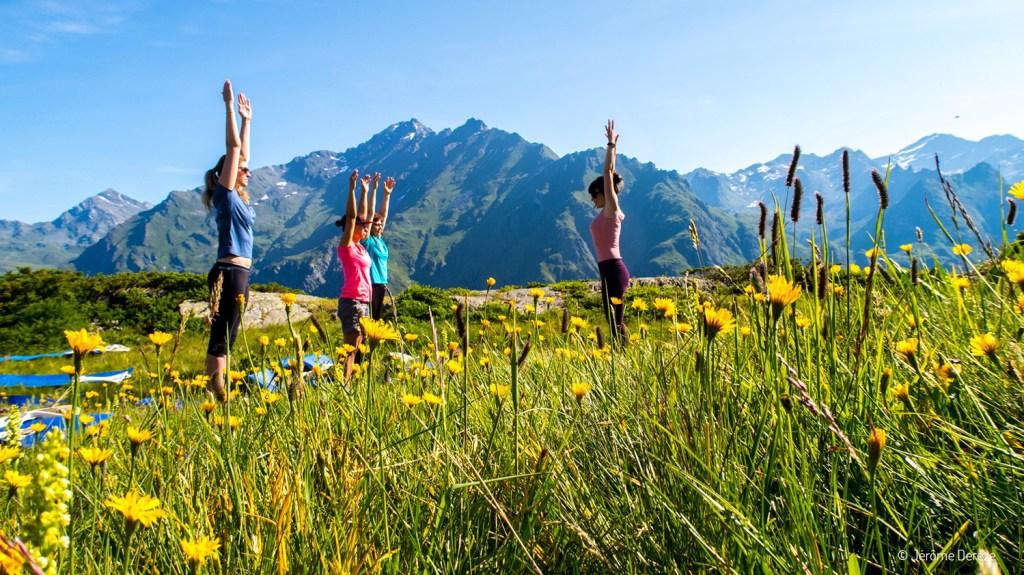yoga avec Emilie Thomas
