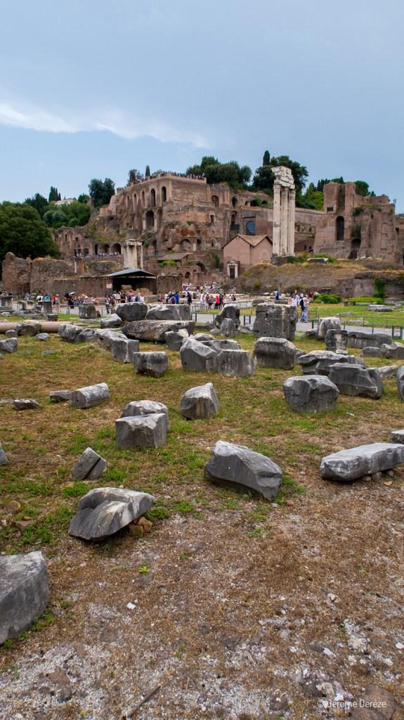 ruines archéologiques du Forum Romain