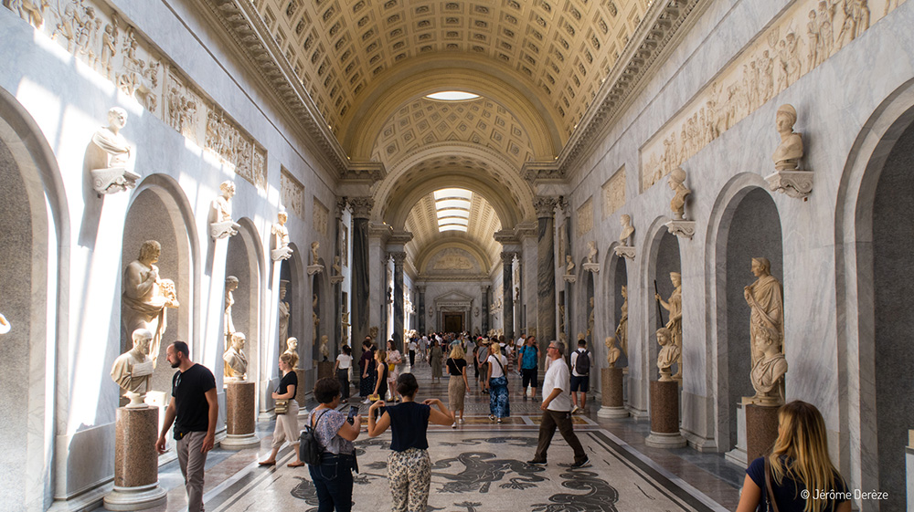 Salle Braccio Nuovo au Vatican