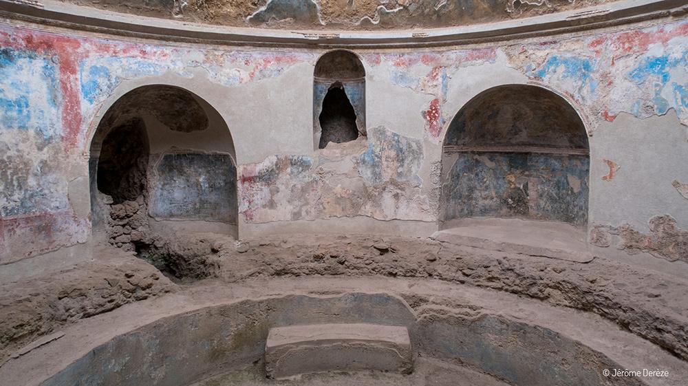 vestiges et ruines de pompéi