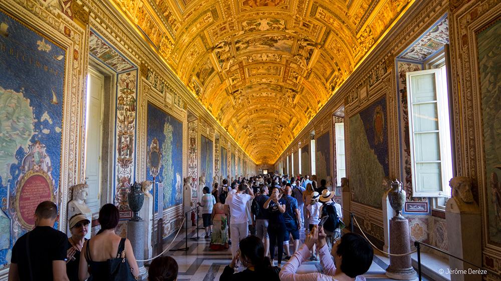 Cartographie aux Musées du Vatican