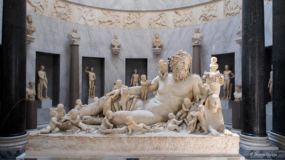 Sculptures aux Musées du Vatican