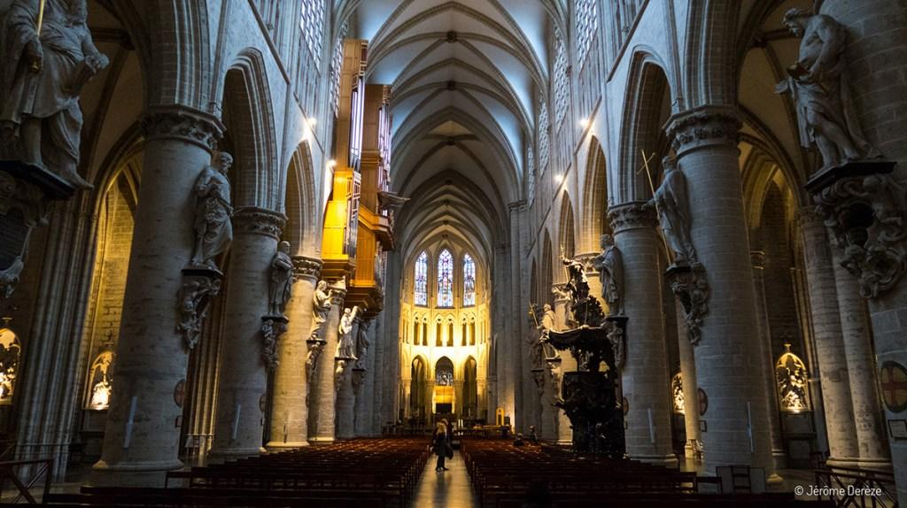 Intérieur de la Cathédrale des Saints Michel et Gudule