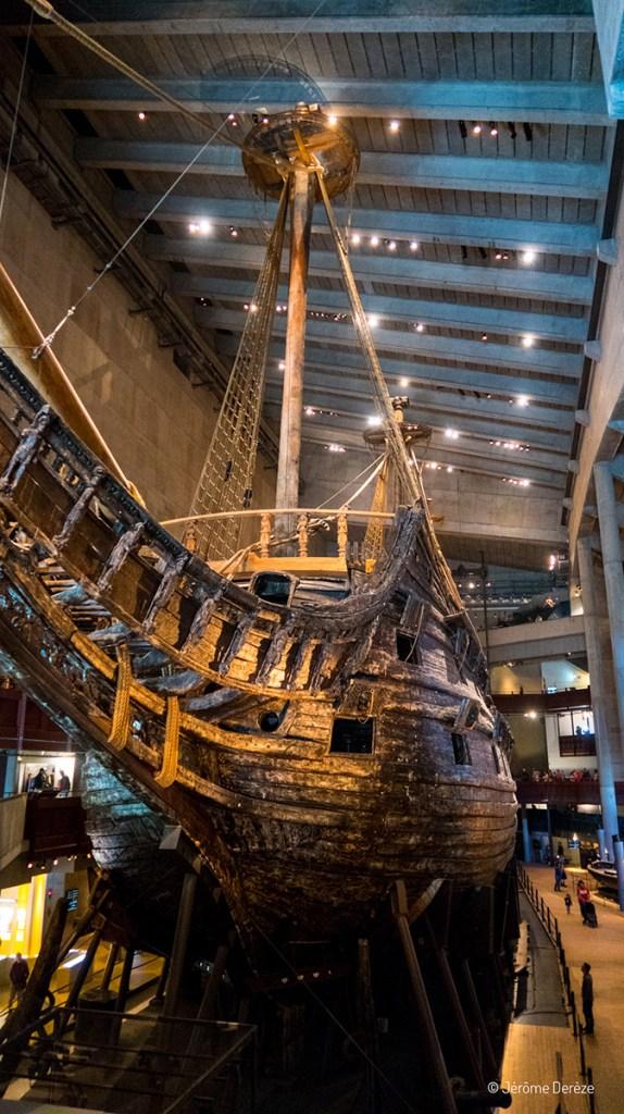 navire du musée vasa