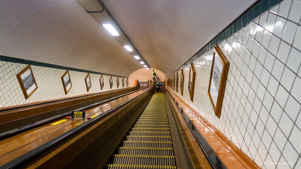 Tunnel Sainte-Anna à Anvers
