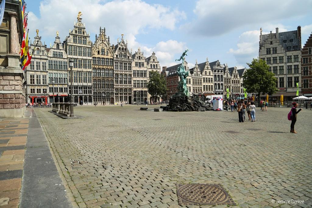 Groenplaats - Vieille ville d'Anvers