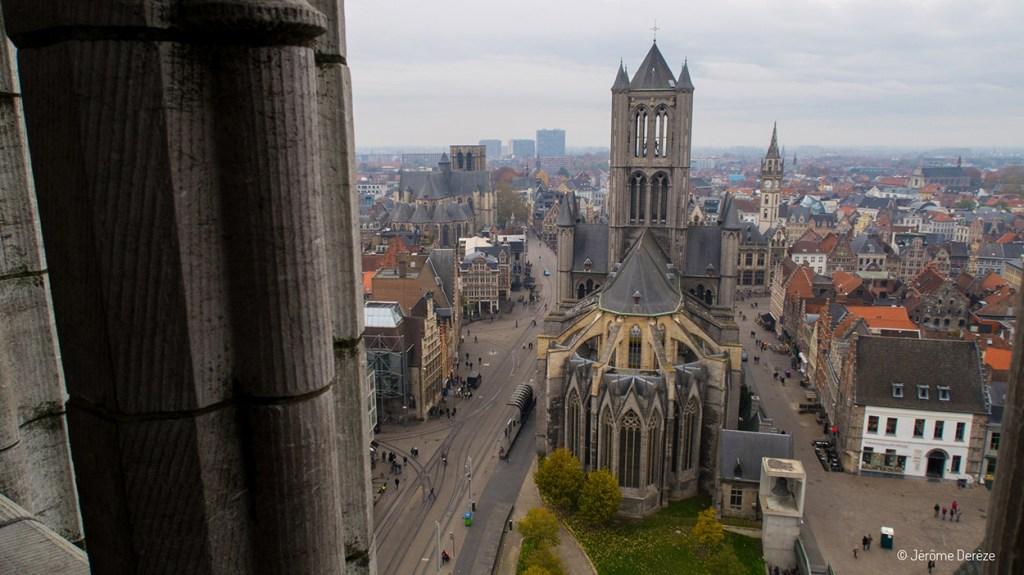 Extérieur Église Saint-Nicolas de Gand
