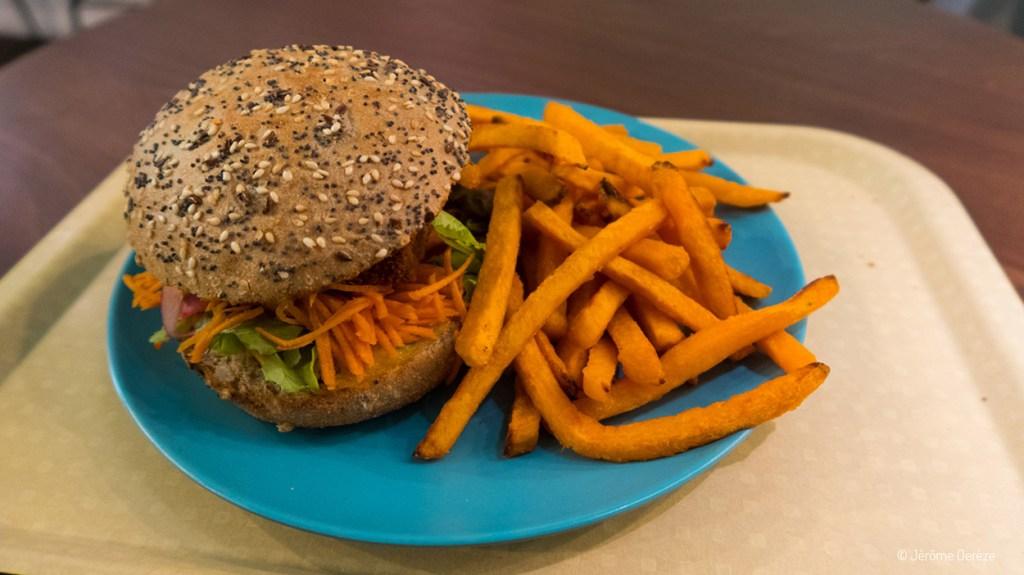 manger végétarien à gand - Tasty world