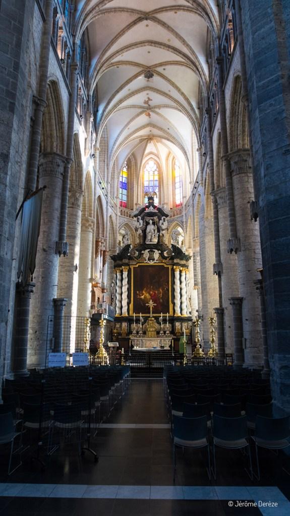 Intérieur Église Saint-Nicolas de Gand